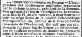 Petit Parisien du 14/01/1895